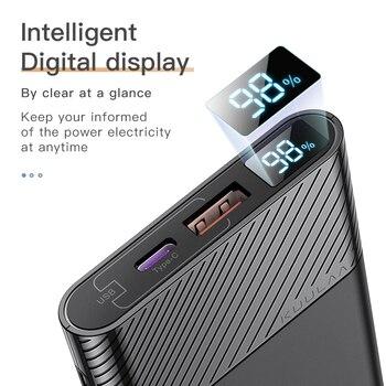 Внешний аккумулятор KUULAA, 10000 мА*ч, 2 x USB, QC 3.0, PD 3.0 5