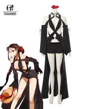 ROLECO Game FGO Fate Grand Order Cosplay Costume Consort Yu Sexy Swim Suits for Women Female Swimsuit