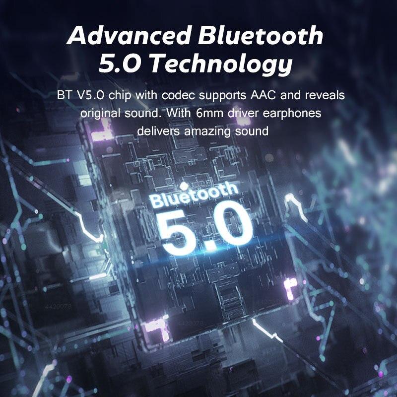 TWS Bluetooth Earphones Wireless earphone 2200mAh Charging Box Waterproof Digital display Earbuds Headsets With Microphon F9 3