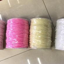 Plastic Beads Chain Jewelry-Making-Materials DIY 100yards/Lot Packing Wedding-Gift 3mm
