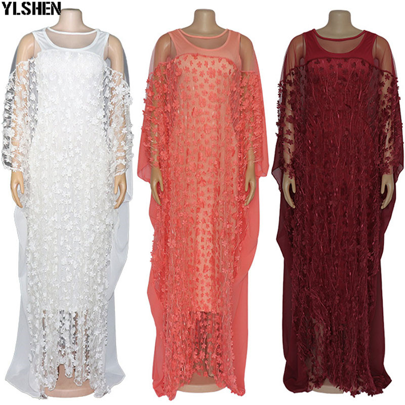 African Dresses For Women 2019 Africa Clothing Muslim Long Dress High Quality Length Fashion African Dress Clothes For Lady