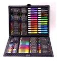 168 шт. набор ручек для рисования, набор для рисования, цветные карандаши для рисования, масляная Пастельная вода, цветной клей с чехлом для де...