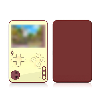 2.4 inches K10 Pocket Game Console 500 in 1 Mini Card Game Console 500 Games Support Five Languages Handheld Game Players 1