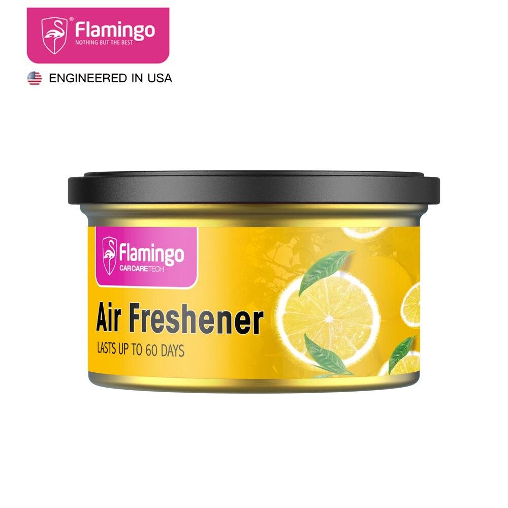 Car Air Freshener Car Perfume Gel Can Fragrance Box Solid Perfume Deodorant  Vanilla Fragrance Interior Accessories 1.73oz