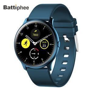 Image 1 - חדש Battiphee Smartwatch KW13 AMOLED HD מסך Ultra בהיר צבע צמיד להקת ארוך זמן המתנה ספורט מצב קצב לב צג