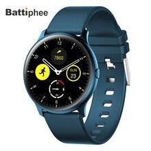 جديد Battiphee Smartwatch KW13 AMOLED HD شاشة فائقة مشرق اللون سوار الفرقة وقت طويل الاستعداد وضع الرياضة مراقب معدل ضربات القلب