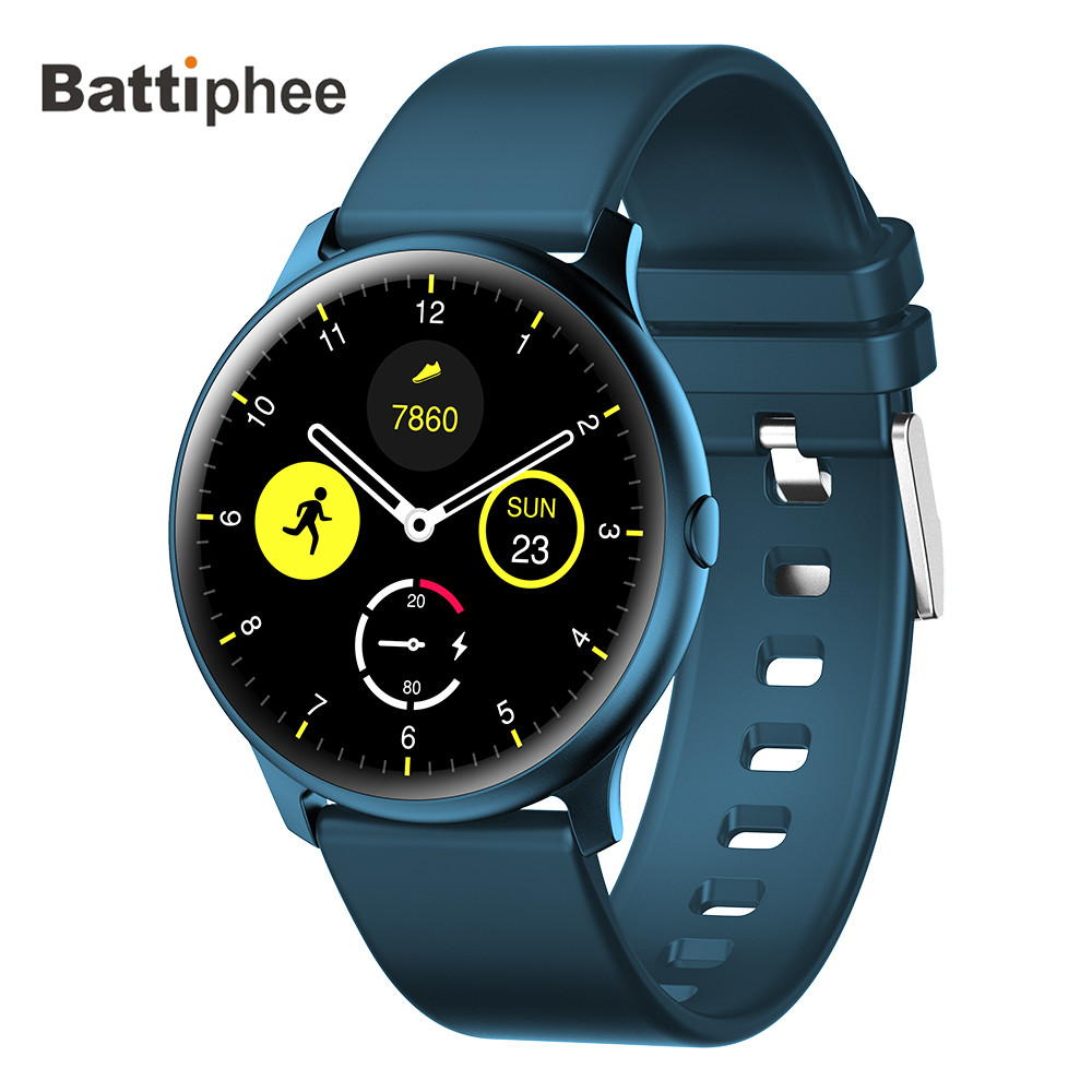 NEW Battiphee Smartwatch KW13 AMOLED HD Screen Ultra-bright Color Bracelet Band Long Time Standby Sport Mode Heart Rate Monitor