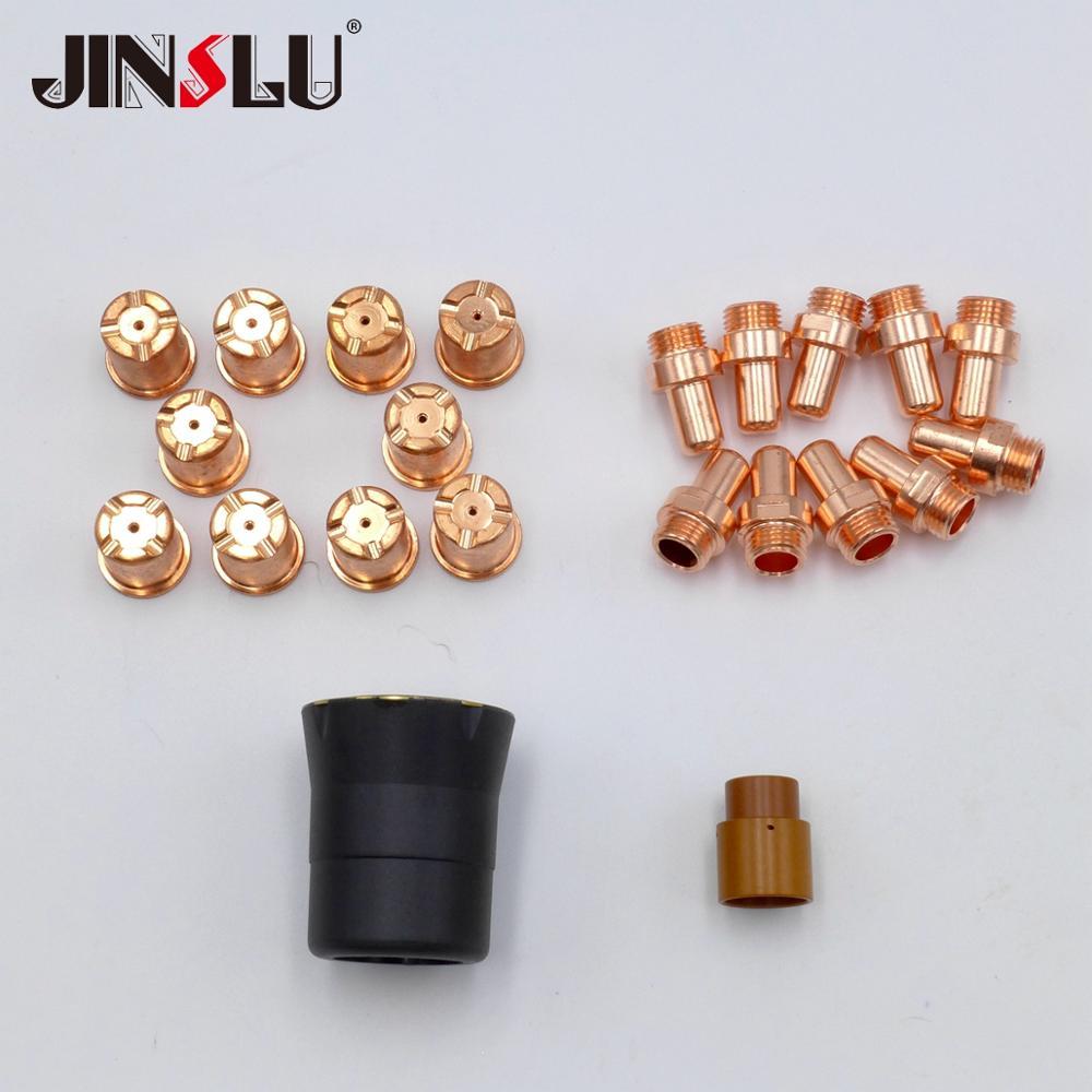 Nozzle Swirl Ring 10 Tip And 10 Electrode For HF Pilot Arc CP-70 CB-70 CB 70 LT-70 LT 70 PF0065 OEM Cebora Plasma Cuting Torch