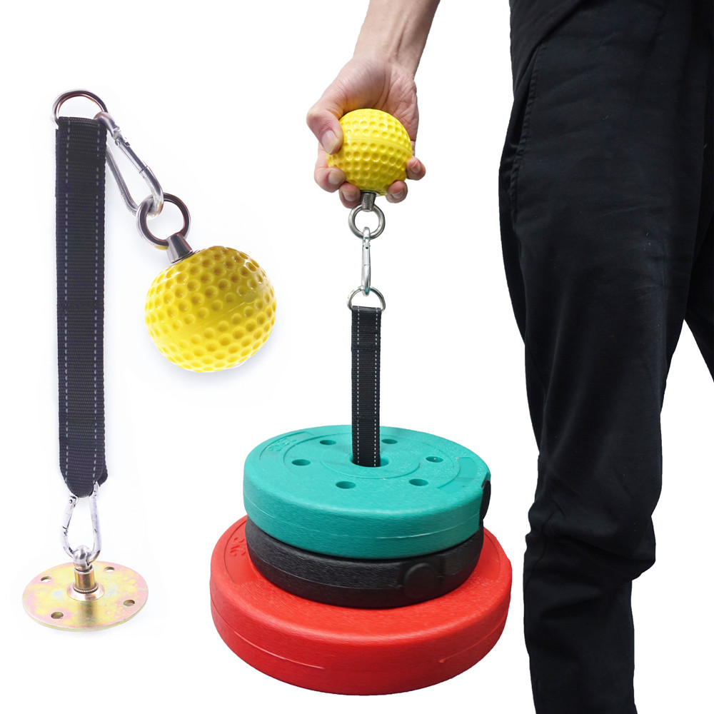 Fitness Heavy Arm Trainer Muscle Grip Ball Blaster Pull Up Power Ball Hold Grip Triceps Gym Equipment For Home Strength Workout
