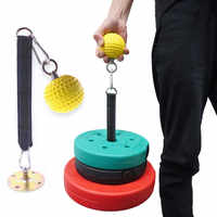 Fitness Schwere Arm Trainer Muscle Grip Ball Blaster Pull Up Power Ball Halten Grip Trizeps Gym Ausrüstung für Home Festigkeit workout