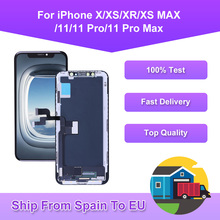 Best Quality For iPhone X XS XR XS MAX OLED 11 Pro Max Incell LCD Screen Replacement Display With 3D Touch Digitizer Assembly
