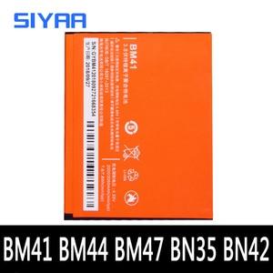 Image 1 - BM41 BM44 BM47 BN42 BN35 Xiaomi Redmi 3 3S 4X 4 5 1S Hongmi 3X 교체 용 배터리 실제 용량 휴대 전화 Bateria