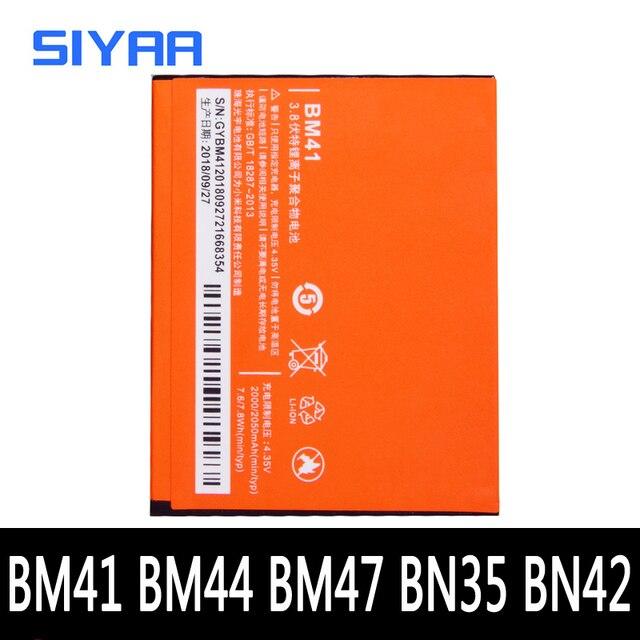 BM41 BM44 BM47 BN42 BN35 Xiaomi Redmi 3 3S 4X 4 5 1S Hongmi 3X 교체 용 배터리 실제 용량 휴대 전화 Bateria