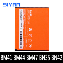 BM41 Batería de repuesto para Xiaomi Redmi 3 3S, 4X, 4, 5, 1S, Hongmi 3X, batería de teléfono móvil, BM44, BM47, BN42, BN35