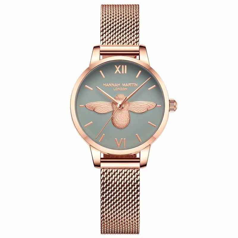 Hannah Martin Top Luxury Brand Quartz Fashion Ladies Watch Casual Business Female Watch Wristwatch Women Clock Relogio Feminino