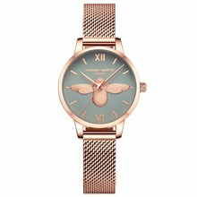 Hannah Martin Top Luxury Brand Quartz Fashion Ladies Watch Casual Business Female Watch Wristwatch Women Clock Relogio Feminino 2017 new watch women top brand luxury famous fashion casual wristwatch quartz watch clock ladies dress watch relogio feminino