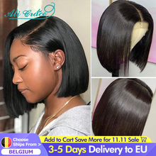 Ali Grace Bob Lace Front Wigs For Women Short Human Hair Bob Closure Wig Natural Hairline Brazilian Straight Lace Front Bob Wigs