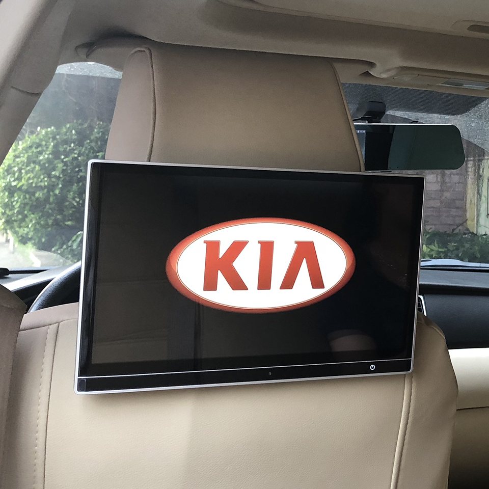Car Electronics Intelligent System Multimedia Player Android 7.1 Headrest Monitors With Wifi Bluetooth USB HDMI For KIA Carnival|Car Monitors| |  - title=