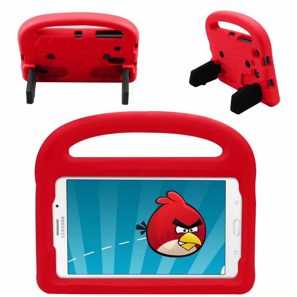 EVA Coque For Samsung Galaxy Tab A 8.0 2018 SM-T387 Kids Case Cartoon Bird Shockproof For Samsung Tab A T387 Children Cover