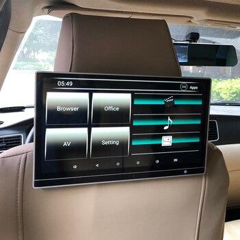 12,5 дюймовый автомобильный Android 8,1, развлекательная система заднего сиденья, поддержка 4K HD Aux, Fm, ИК-передатчик, Bluetooth, HDMI, USB, для Land Rover