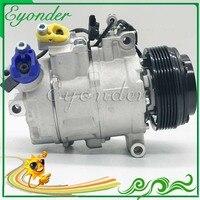 A/C AC Compressor de Ar Condicionado Bomba De Refrigeração PV1 para BMW 118d 1 série E81 E82 E88 120d 123d 116d X1 E84 18d 20d 23d 6987862|Ventiladores e Kits| |  -