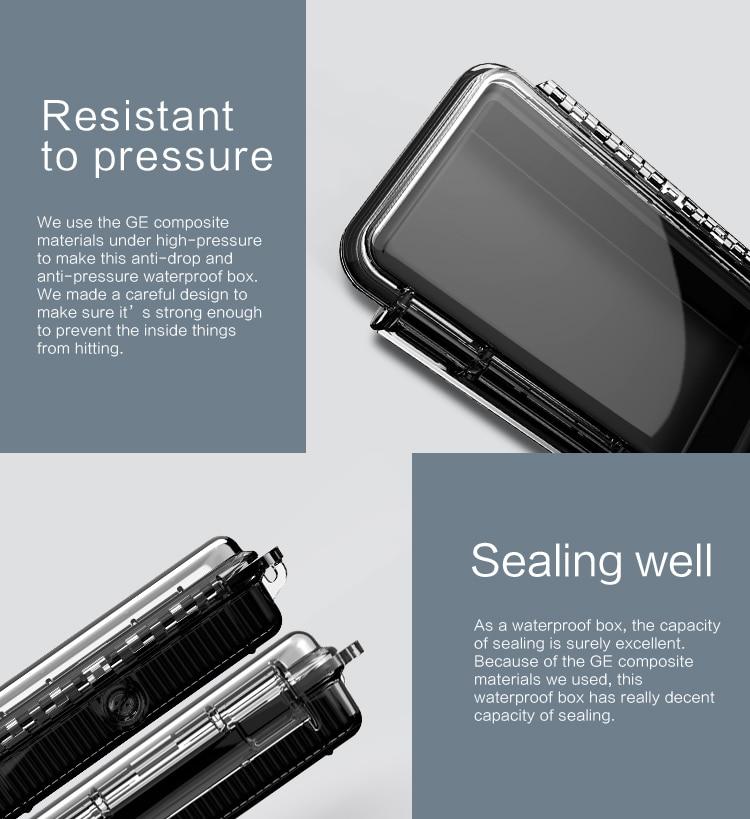 Audiosense Waterproof IEM Hard Case