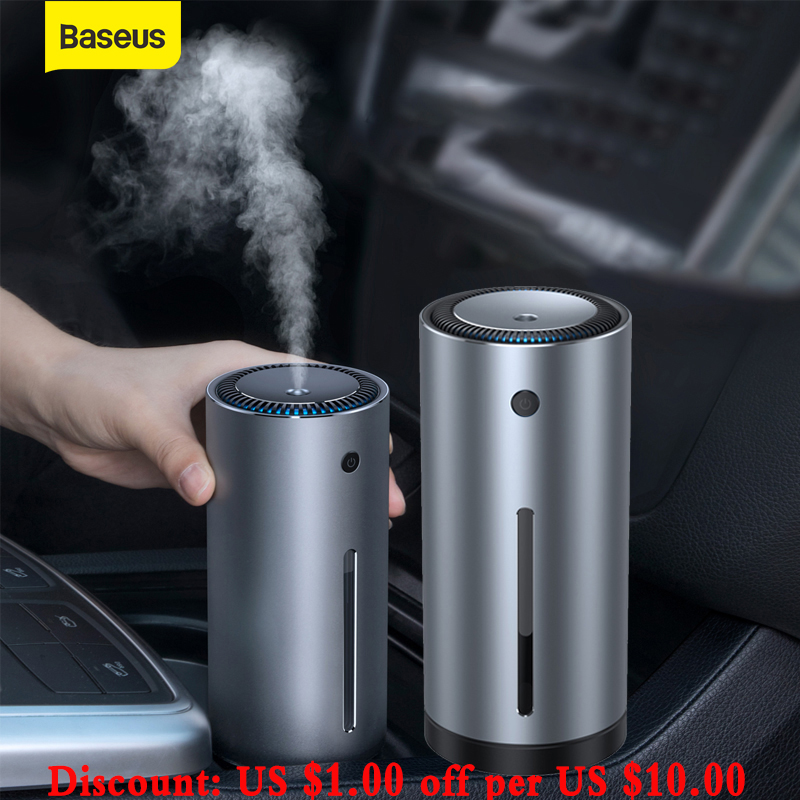 Baseus Car Air Humidifier Aroma Essential Oil Diffuser 300ml Aromatherapy Diffuser USB for Home Office Car Air Purifier Air Care|Car Air Purifiers|Automobiles & Motorcycles - AliExpress