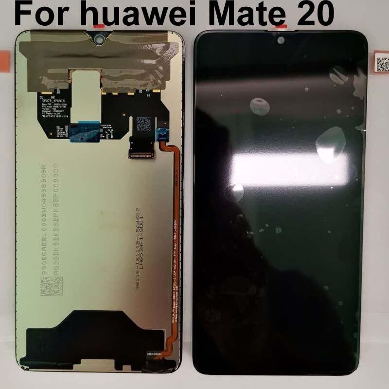 """100% オリジナルの新アリヴァ 2018 6.53 """"Huawei 社メイト 20 MT20 mate20 HMA l29 Lcd ディスプレイデジタイザタッチスクリーンアセンブリ部品  グループ上の 携帯電話 & 電気通信 からの 携帯電話用液晶ディスプレイ の中 1"""