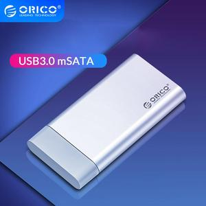 ORICO Mini mSATA SSD HDD Enclosure Aluminum 5Gbps USB3.0 HDD Case for Laptop Desktop Compatible with Windows/Linux/Mac(China)