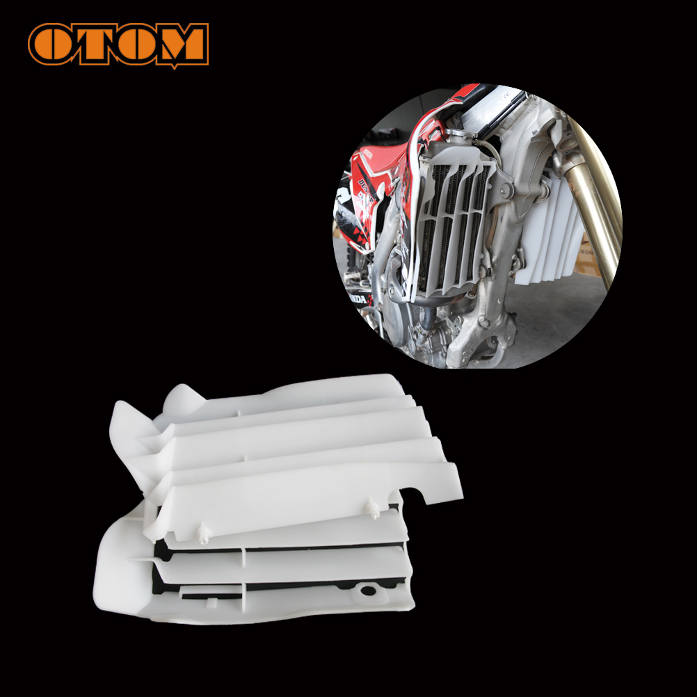 OTOM Water Coolant Tank Air Deflector Motocycle Motocross Dirt Street Bike For HONDA CRF250R CRF450R