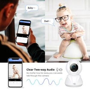 Image 3 - Hiseeu 720P/1080P IP Camera 2MP Wi Fi Wireless Network CCTV Camera Home Security Camera IP Baby Monitor P2P Smart Motion Track