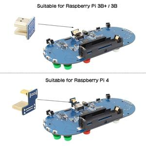 Image 3 - 라즈베리 파이 4 모델 B / 3 B + 플러스/3B/제로 W RetroPie 게임 모자 콘솔 게임 패드 480x320 3.5 인치 IPS 스크린