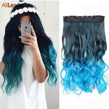 Alileader limited 5 зажимов для наращивания волос натуральный