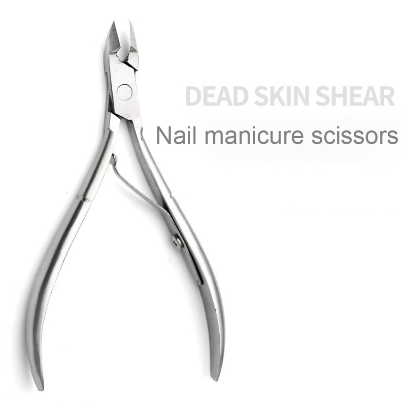 Nail Cuticle Nipper Cutter Colorful Clipper Scissor Dead Skin Remover Trimming Manicure Nail Art Tool