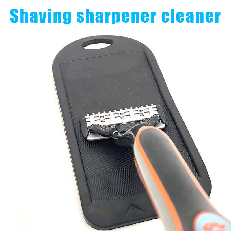 New Shaver Cleaner Razor Blades Sharpener To Sharpen Cartridge Blades Dull Disposable Shaving Razor Care (опасная бритва)Best