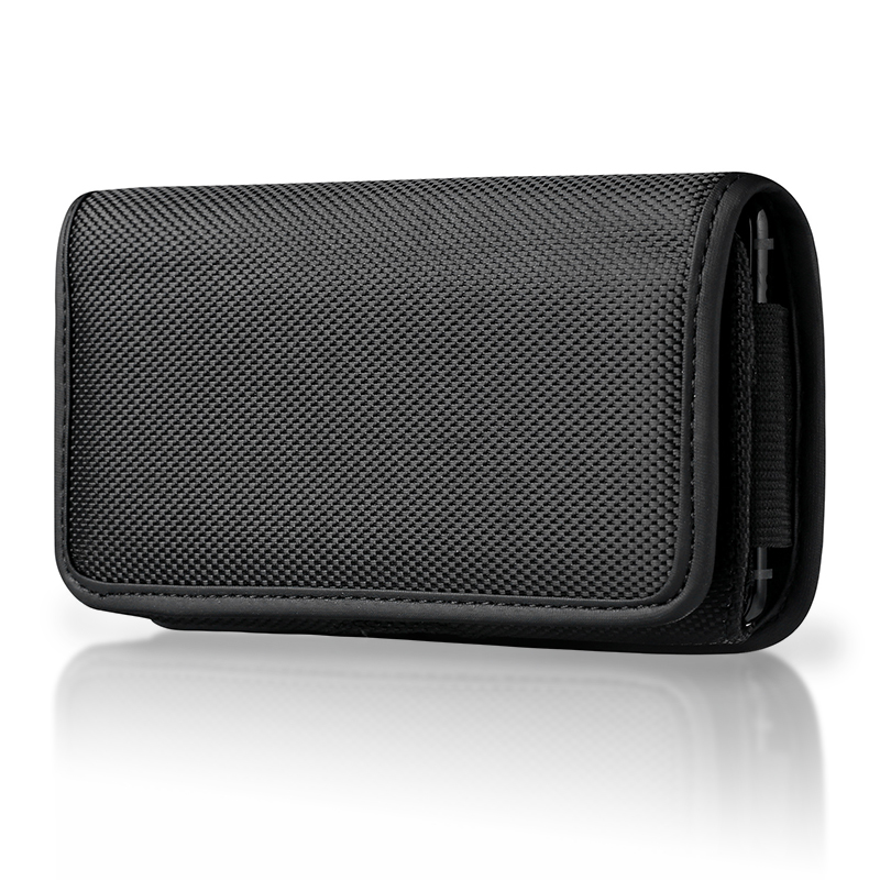 Universal Phone Pouch <font><b>Case</b></font> For <font><b>iPhone</b></font> 11 Pro Max Xs <font><b>XR</b></font> X 6 6s 7 8 plus 3.5-6.3inch Phone <font><b>Case</b></font> <font><b>Belt</b></font> Clip Holster Oxford Cloth Bag image
