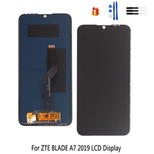 Original For ZTE Blade A7 2019 P963F02 LCD Display Touch Screen 6.09 inch Digitizer Sensor Assembly For ZTE A7 LCD Display for zte blade x7 display v6 t660 t663 lcd monitor touch screen digitizer screen accessories for zte blade x7 v6 z7 lcd tools
