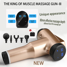 32 speed levels Massage Gun Rechargeable Muscle Stimulator Deep Tissue Professional Massager  Body Relaxation  Pain Relief
