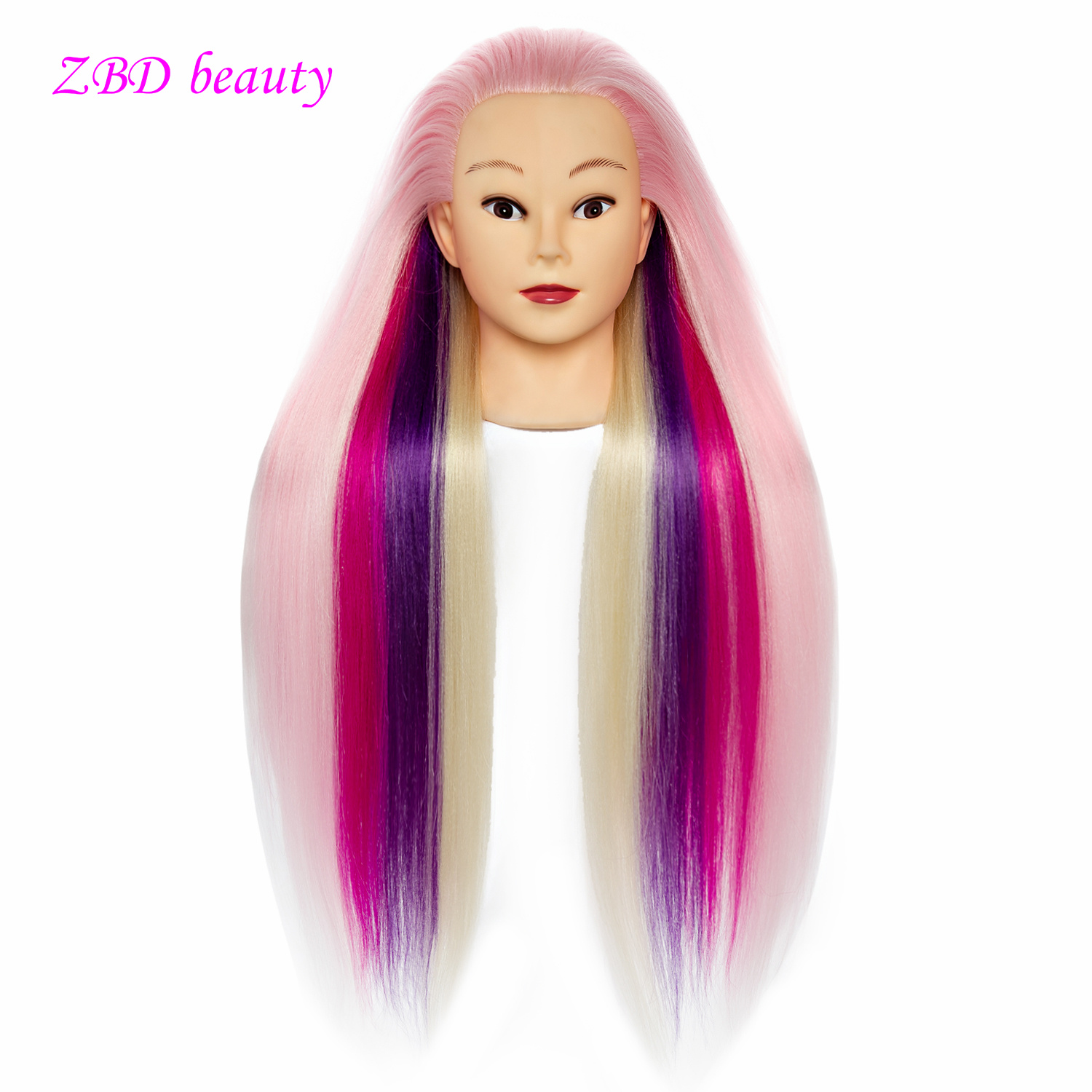 Doll Head For Training 24inch Styling Head Doll Hair Mannequin Head Hairdressing Mannequin Heads Barbie Head
