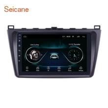 Seicane – autoradio 9 pouces, Android 2008, 2 DIN, lecteur Audio, GPS, WIFI, 3G, pour Mazda 6 Rui wing/ mazda 6 II Ultra 2013-2014 8.1