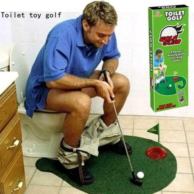 Bathroom Mini Golf Putting Green Mat