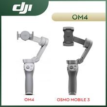 DJI OSMO Móvel 3 Combo 3-Eixo Gimbal Estabilizador com Faixa Ativa 3.0 Gesto Controlável Selfie Stick Original estabilizador de celular gimbal dslr câmera tripé para celular pau de selfie Baseus