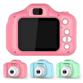 Cámara Digital para niños con pantalla HD de 2 pulgadas, cámaras de dibujos animados, videocámara, regalo de cumpleaños para niños, juguetes para niños y niñas, juegos divertidos