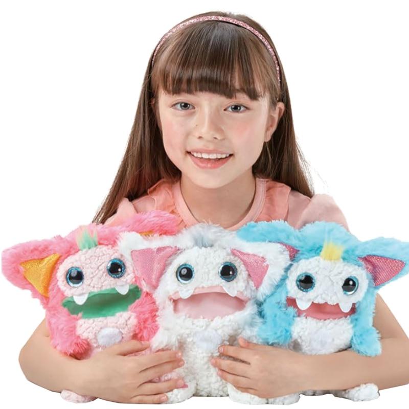 Takara tomy tomica rizmo knuffels hot pop baby speelgoed grappig magic kids pop fluwelen puppets shu katoen snuisterij