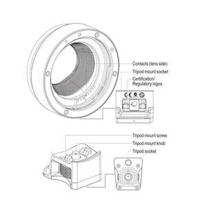 Image 4 - ขายร้อนVILTROX Auto Focus EF EOS M MOUNT Mount Adapterสำหรับกล้องCanon EF EF Sเลนส์สำหรับCanon EOSกล้องMirrorless