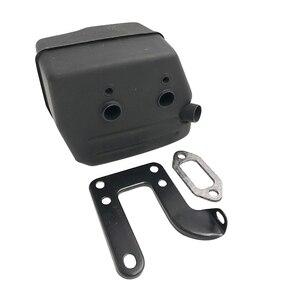 Image 5 - HUNDURE Muffler Exhuast Silent Block Bracket Gasket Kit For HUSQVARNA 268 272 272XP 272K 61 Chainsaw Parts 503535901