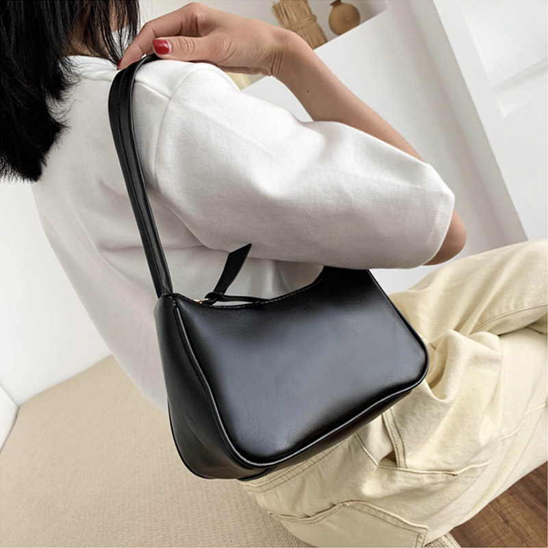 Retro Totes Bags For Women 2020 Trendy Vintage Handbag Female Small Subaxillary Bags Casual Retro Mini Shoulder Bag 3