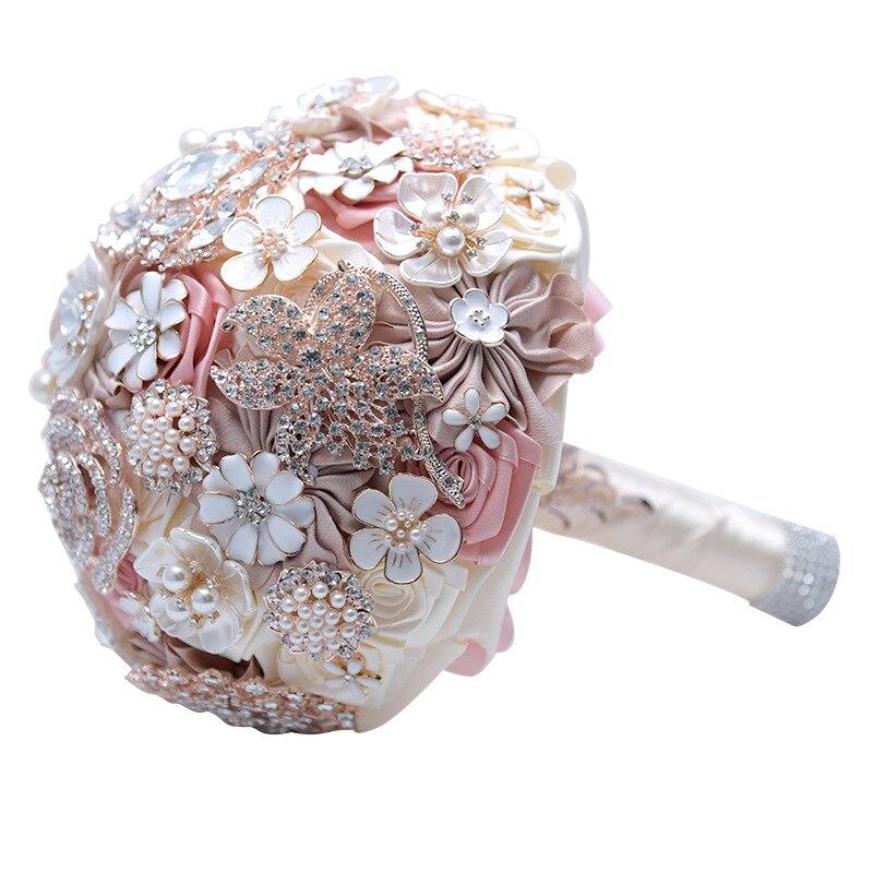 19 см розы свадебные искусственные цветы Букет шелк Роскошные Холдинг поддельные цветы День Святого Валентина украшение дома аксессуары по...