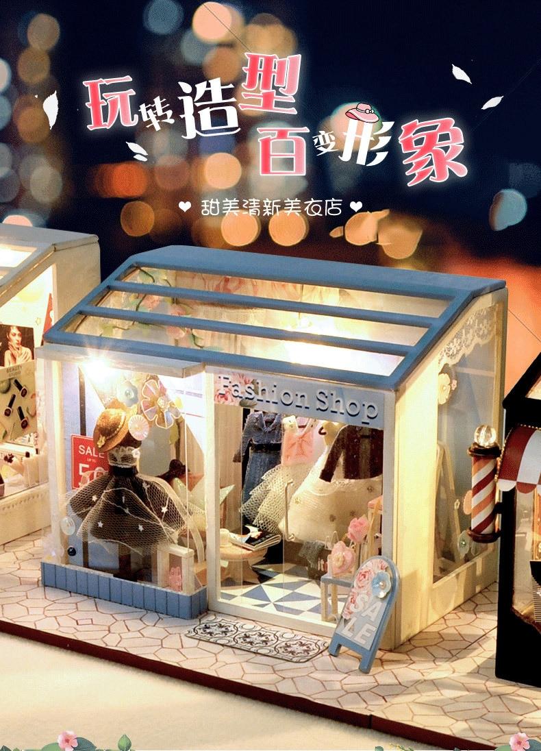 H197280a448054afcb1cd93a40a0ed03c6 - Robotime - DIY Models, DIY Miniature Houses, 3d Wooden Puzzle