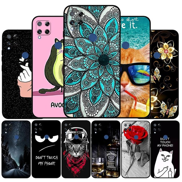 TPU Case For Realme Narzo 20 30A Case Silicone Soft Back Cover For Realme 7i Global Phone Cases For Realme C15 C12 C25 Covers